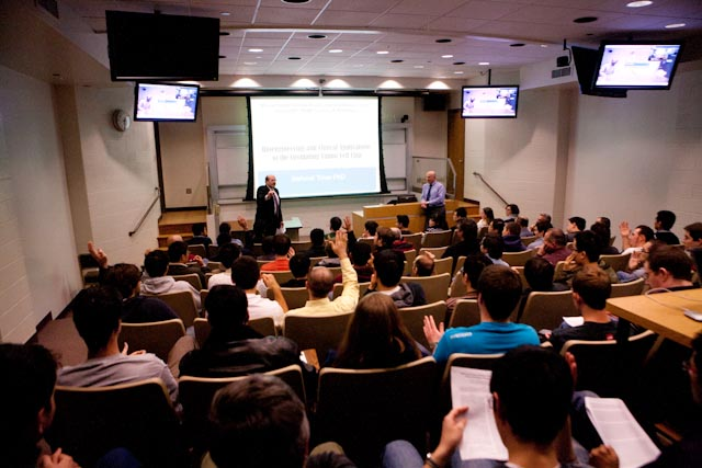 Prof. M. Toner (Harvard U.) visits ALAM Lab and presents the SoE Distinguished Lecture on February 3th of 2012